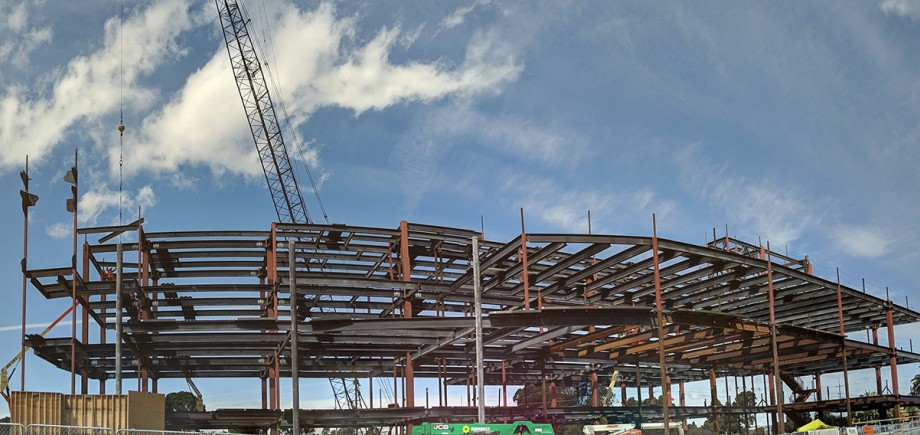 Contra Costa County Administration Building Steel Topping Out Ceremony